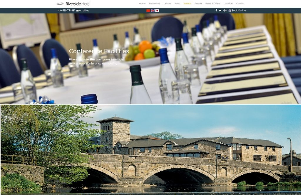 riverside hotel conference venue kendal